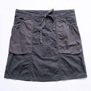 """NWOT Tie Waist Utility Skirt + Pockets 32""""x 19.25"""""""
